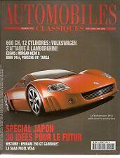 AUTOMOBILES CLASSIQUES 119 VOLKSWAGEN W12 BMW 745i MORGAN AERO 8 TOYOTA 2000 G