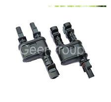 MC4 Y-Stecker Paar/ 2 zu 1 / Solar Connector / Verzweigungsstecker/ Photovoltaik