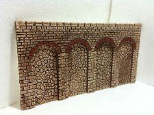 muro di contenimento per plastico ferroviario,diorama h0 ART. m 13