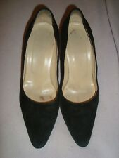HOBBs UK 5.5  EU 38.5  BLACK SUEDE shoes RRP £ 195.00