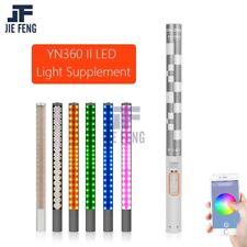New YONGNUO YN360 II YN360II LED Handheld Video Light 3200-5500k RGB Color Stick