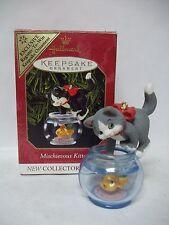 Hallmark 1999 Mischievous Kittens 1st Repaint Ornament Register to Win