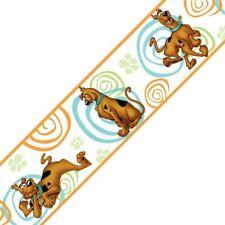 SCOOBY DOO Peel-n-Stick  BORDER ROLL - Kids Room Self Stick Wallpaper FREE SHIP