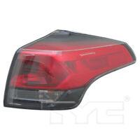 Halogen Outer Quarter Tail Light Rear Lamp Right Passenger for 16-18 Toyota RAV4