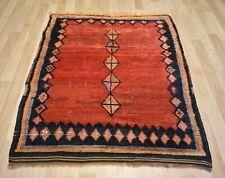 "Extremely Rare 1940's Antique Handmade Konya Karapinar rug 4 Ft 3"" x 5 Ft 6"""