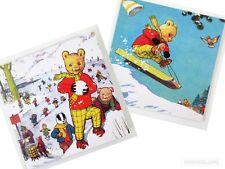 Rupert The Bear Rupert's Christmas Box Set of 20 Christmas Cards Vintage Artwork