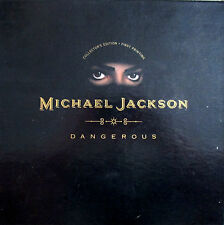 Michael Jackson + DANGEROUS GOLD CD COLLECTORS POP UP EDITION 1991+1st printNEW+