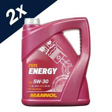 2x5L Mannol ENERGY 5w30 Fully Synthetic Engine Oil SL/CF ACEA A3/B3 WSS-M2C913-B