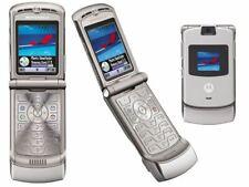 Nagelneu Motorola v3 RAZR Phone-Bluetooth-GPRS-VGA Cam-orange Netz