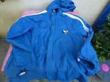kway Puma  veste vintage bleu T XL se met en boule