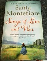 Santa Montefiore (Hardback, 2015) Songs of Love and War 1st Edition