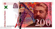 France Billet 200 FRANCS 1996 P159  GUSTAVE EIFFEL  BON ETAT
