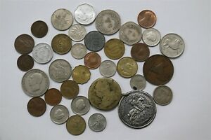 OLD WORLD COINS USEFUL LOT B33 WI7