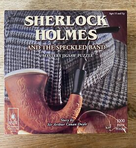 Sherlock Holmes Mystery Jigsaw Puzzle, 1000 Piece - BePuzzled - Free Shipping!