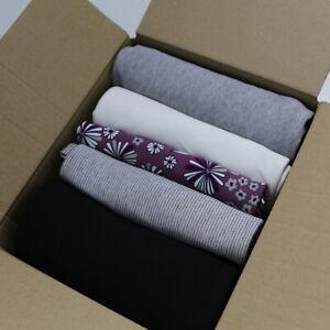 1,54kg Stoff Rest Paket Baumwolle designer Jersey Kleid Hose Shirts Alltag Sport