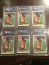 1981 Topps Art Monk Rookie Card RC Coca Cola Lot Of 71 Total PGC BCCG 9 10 Mint