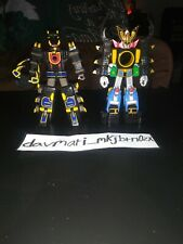 Bandai Power Rangers Ninja Storm Lot of 2: Thunder Megazord &Hurricaine Megazord