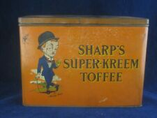 42841 Old Vintage Antique Tin Sign Kitchen Advert Sweet Candy Toffee Sharp's
