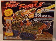 GI Joe Street Fighter II Sonic Boom Tank Exclusive Guile Figure By Hasbro (MISB)