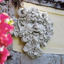 Bacchus God Of Wine Large Greenman Design Toscano Exclusive Wall Sculpture
