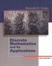 Discrete Mathematics and Its Applications by Kenneth H. Rosen (2002, Hardcover)