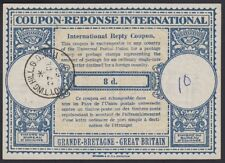 Great Britain, 1952. Int'l Reply Coupon 8d, Notting Hill