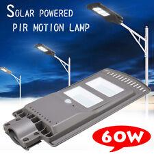 60W 80LED 6V Solar Power Lamp Outdoor Garden Wall Street Light IP67  NEW