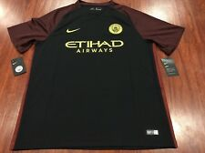 Authentic 2016-17 Nike Manchester City Men's Away Soccer Jersey XL Extra Large