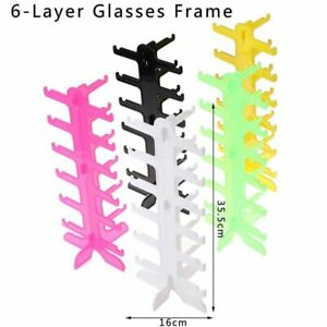 1pc Sunglasses Show Stands Holder 5/6 Layers Frame Display Racks Accessories Hol
