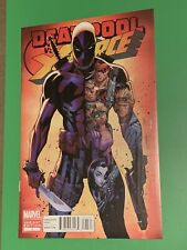 Deadpool vs X-Force #1 J Scott Campbell Variant Cover Beautiful CGC Worthy Copy