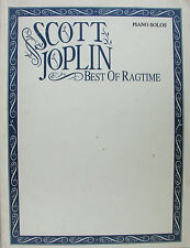 SCOTT JOPLIN BEST OF RAGTIME PIANO SOLO