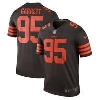 New 2019 Nike Cleveland Browns Myles Garrett 95 Color Rush Legend Edition Jersey