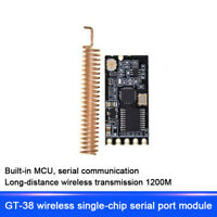 Wireless Transceiver Module Serial Port 433Mhz SI4438/SI4463 Built-in MCU