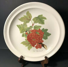 Pomona Portmeirion The Red Currant Dinner Plate - Old Stamp