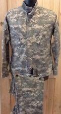 "US Army ACU Digital Military Combat Uniform  Shirt-Medium Reg / Pants 27"" Long"