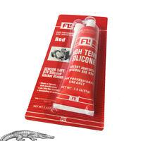 Hochtemperatur Silikon Dichtmasse Rot 85g RTV Ölwannendichtung Dichtung