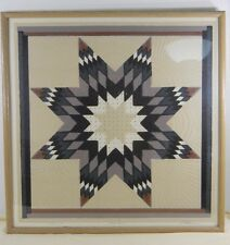 Rare Vintage Roberta Adkins –Star Quilt– Signed Limited Edition Serigraph