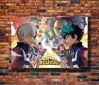 Art Anime Boku No Hero Academia Japan -20x30 24x36in Poster - Hot Gift C163