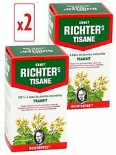 Lot 2 Boites Tisane Infusion Ernst Richter 40g - 100%Plantes Naturelles Minceur