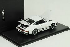 1975 Porsche 911 Carrera 2.7 white weiss openable bonnet rear lid 1:43 Kyosho