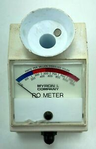 Myron L RO-1 Reverse Osmosis DS Meter Instant accurate TDS ppm Test
