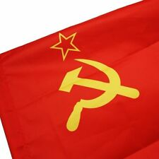 WAVE 69*96cm CCCP Union of Soviet Socialist Republics 3x2' Feets USSR star FLAG