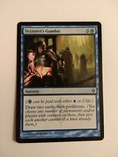 Tezzeret's Gambit 1X NM New Phyrexia MTG Magic the gathering