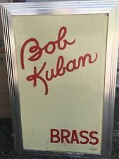 Hard to Find Bob Kuban Brass Band Music Stand from the SS Admiral