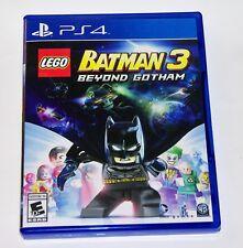 Replacement Case (NO GAME) LEGO Batman 3 Beyond Gotham PlayStation 4 PS4 Box