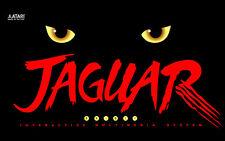 ATARI JAGUAR Game Console Box Cover  Fridge Magnet Game Decor #1
