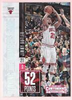 JIMMY BUTLER 2017-18 PANINI CONTENDERS NUMBERS GAME CRACKED ICE #07/25 BULLS