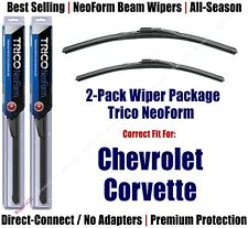 2pk Super-Premium NeoForm Wipers fit 1995-1996 Chevrolet Corvette 16200x2
