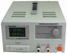 Tekpower Tp12003d Dc Adjustable Linear Power Supply 120v 3a With Digital Display