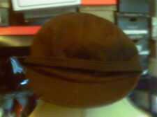 KOKIN BROWN WOOL BASE BALL CAP RETRO MODERN COOL VINTAGE LOOK